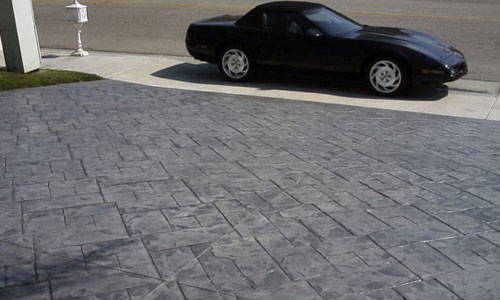 Driveway Decorative Concrete Finishes