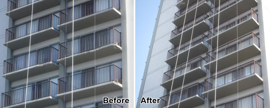 Concrete Building Restoration in Huntington Park, CA