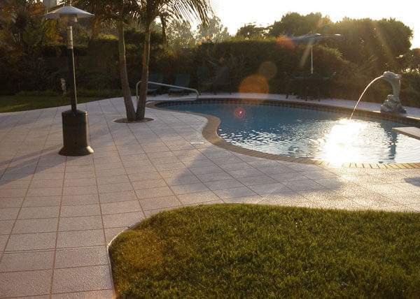 Decorative Pool Deck Coatings